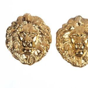 18 kt Gold Vermeil over Brass Massive Royal Wild A